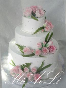 Акция «Свадебные торты от 25 руб. за кг»
