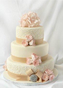 Скидка до 20% на свадебный торт