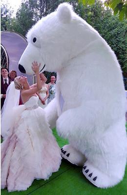 Белый Мишка на праздник со скидкой 25%