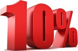 Скидка 10% при оплате абонемента за 3 месяца вперед