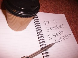 Скидка 50% на кофе студентам