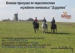 Скидка 50% на входной билет при заказе конной прогулки
