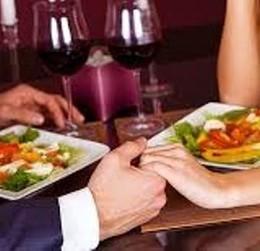 Скидка 50 % на романтический ужин на двух персон