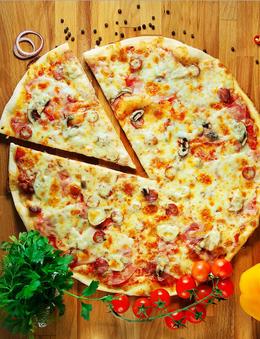 Акция «Каждая четвертая пицца—бесплатно»