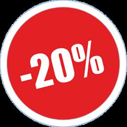 Акция «Скидка 20% на блюдо дня»