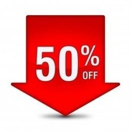 Скидка 50% на одежду