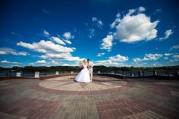 Аэросъёмка в подарок при заказе свадебного видеографа и фотографа на полный день