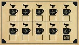 Каждый десятый кофе бесплатно