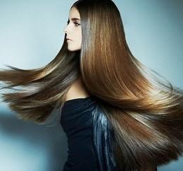Кератиновое выпрямление и лечение волос со скидкой 50%