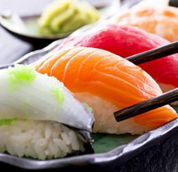 Скидка 20% при заказе суши на вынос