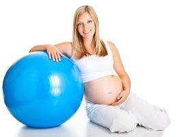 Скидка 10% на занятия по пилатесу для беременных