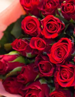 Скидка 10% при заказе роз от 20 шт .