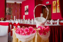 Акция «При заказе банкета или свадебного мероприятия — оформление зала и свадебный/юбилейный торт в подарок»