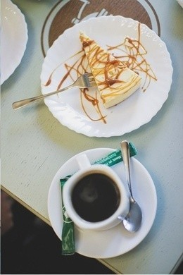 Акция «При заказе десерта американо в подарок»