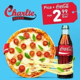 Акция «Пицца + кола по специальной цене»
