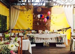 Кафе и рестораны Акция «При бронировании свадьбы, завтрак и баня в подарок» До 31 августа