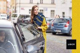 Акция «2 бесплатные поездки с Uber»