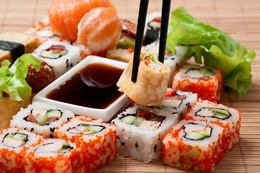 Суши со скидкой 30% на вынос