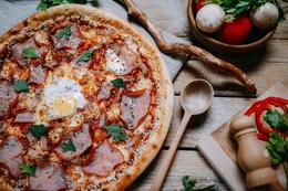 Скидка 20% при заказе пиццы на вынос