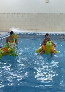 Скидка 50% на услуги бассейна