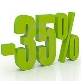 Скидка 35% на бар и кухню