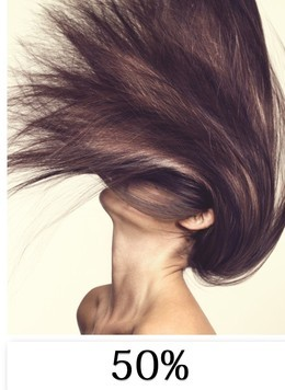 Скидка 50% на процедуры для волос