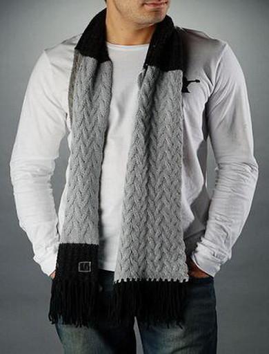 мужской шарф связать быстро - Сумки