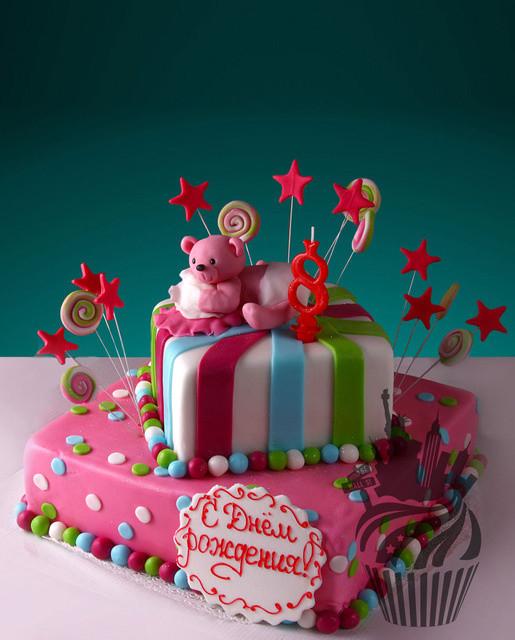 Сделать торт на день рождения ребенка своими руками с мастикой