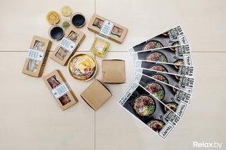 Тестируем новую службу доставки японской кухни TokiNY