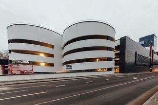 Первый умный паркинг нового минского ТЦ Galleria Minsk открылся в Минске