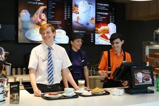Городская кофейня с «премиум-десертами». McDonald's открыл первое в Минске «МакКафе»