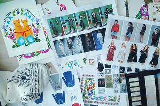 Минская художница Ника Сандрос работает с Mark Formelle над новой коллекцией