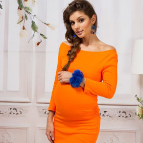 Стильная беременность: как одеваться в холодную пору года