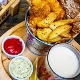 Блюдо от шефа: «Fish&Chips» Алексея Короля