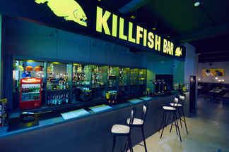 Второе заведение сети KILLFISH: атмосфера классического питерского бара, авторские граффити и большие порции