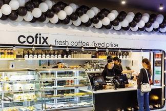 «Все по 1,5 рубля». Первая кофейня израильской сети Cofix открылась в ТЦ «Момо»