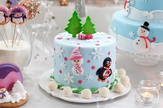 Готовим торт на новогодний стол. Рецепты творожного и песочного лакомства