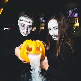 Охота на Ведьм в ночь Halloween