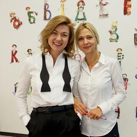 Презентация детской книги Лены Зински «Детский сад для букварят, или Азбука в стихах»