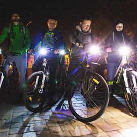 Ночная велоэкскурсия с UNISTAR