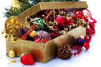 Где в Минске купить новогодние гирлянды и игрушки