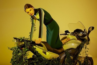 Фотофакт: проект минчанки разместили на страницах итальянского Vogue