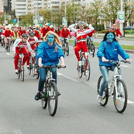 Минский велокарнавал 2016