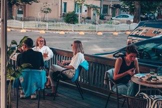 Для эстетов, гурманов итусовщиков. 11 летних террас, на которых, возможно, выещене сидели