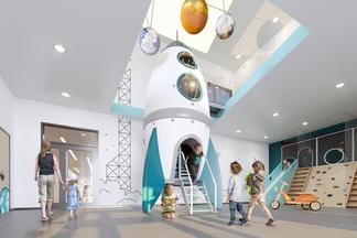 Просто «космос». В Минске построят детский сад с ракетами, звездным небом и инопланетянами