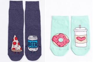 Что, где, сколько стоит: какие креативные и забавные носки можно купить в белорусском магазине