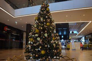 Зачем в Galleria Minsk поставили новогоднюю елку в мае