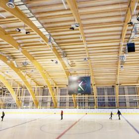 Белорусский айсберг: в Минске открылся новый ледовый дворец