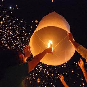 8 марта в Парке дружбы народов состоится массовый запуск небесных фонариков