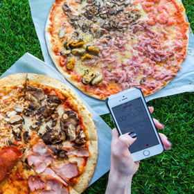 Эксперимент: тестируем пиццу от пяти служб доставки